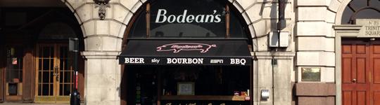 Bodeans - blog