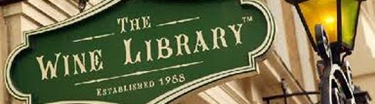 Wine library - blog